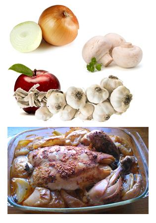 Kurczak feszerowany